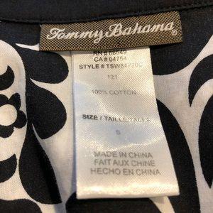 Tommy Bahama Swim - Tommy Bahama black and white swim cover up